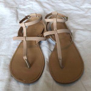Loft women's nude sandals. Size 8.